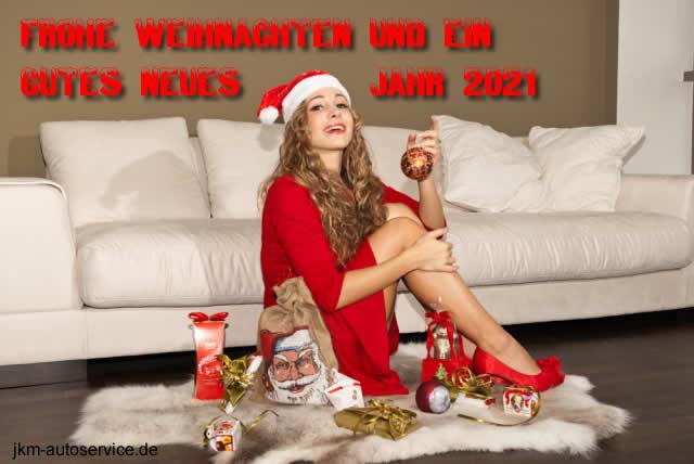 Fröhliche Weihnachten und ein gutes Neues Jahr 2021